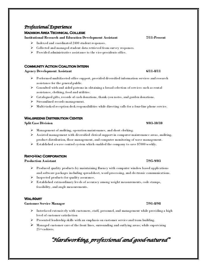 examples of professional profiles on resumes how to write a