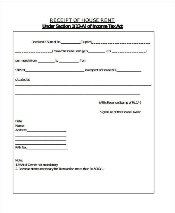 Printable Receipt Forms - 41+ Free Documents in Word, PDF