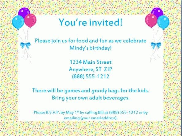 Email Party Invitations Which Perfect For You | THEWHIPPER.COM