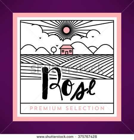 Wine Label Design Stock Photos, Royalty-Free Images & Vectors ...