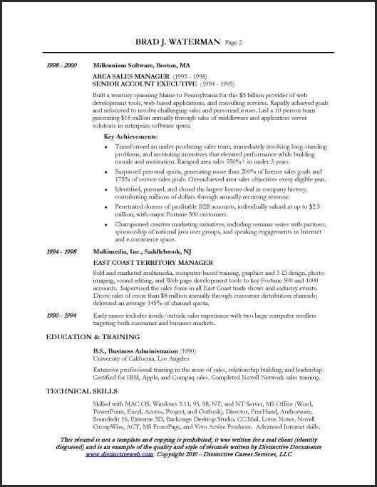 Telecom Sales Executive Resume Sample - gallery Creawizard.com