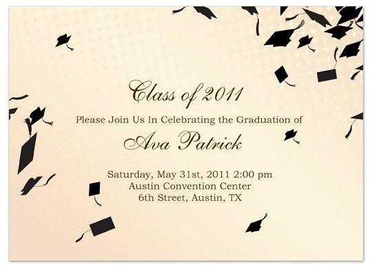 Graduation Invitation Templates Microsoft Word | Template idea