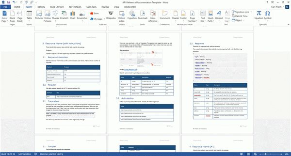 User Guide Word Template. caci microsoft word and powerpoint ...