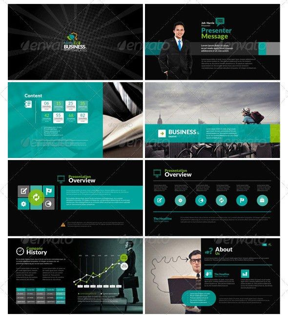 Bunch of really professional and sleek PPT designs | Design ...