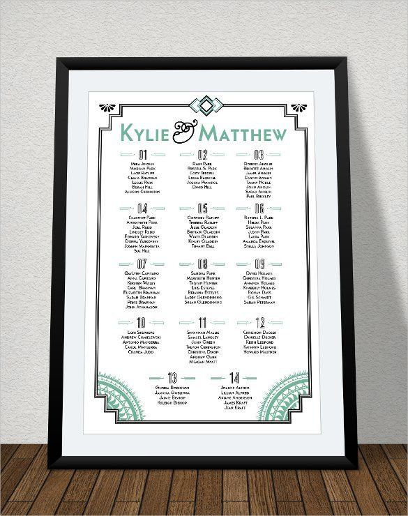 Wedding Chart. Elegant Mirrored Seating Chart Dripping With ...