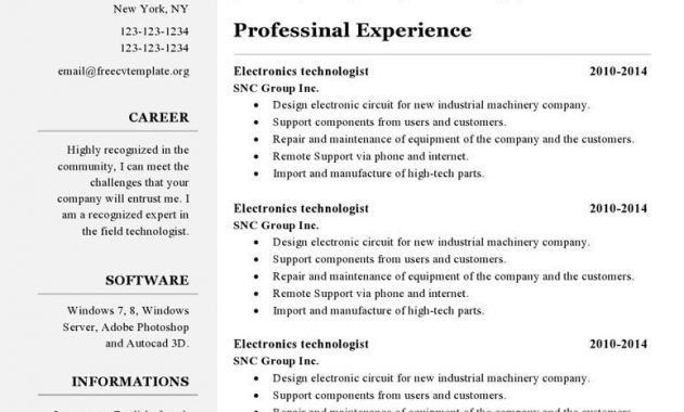 Open Office Resume, curriculum vitae template google search. high ...