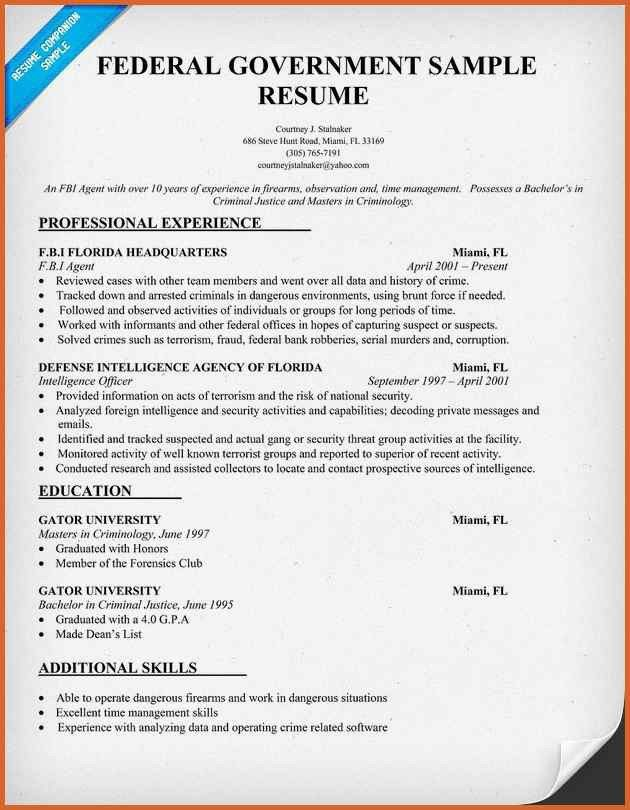 Sample Federal Government Attorney Resume. resume samples ...