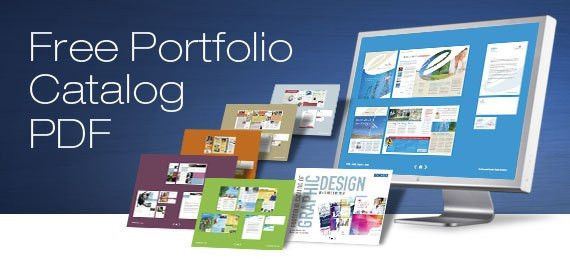 350+ Page Free Graphic Design Resource: StockLayouts PDF Portfolio ...