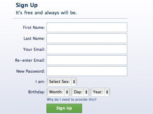 Login / Registration Form: Ideas and Beautiful Examples - Hongkiat