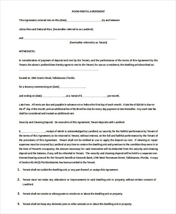 Lease Agreement Word Document Free Texas Residential Lease – Lease Agreement Template Word Free Download