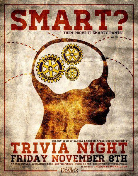 Trivia Night Poster | Brandz Fontz Designz | Pinterest | Trivia ...