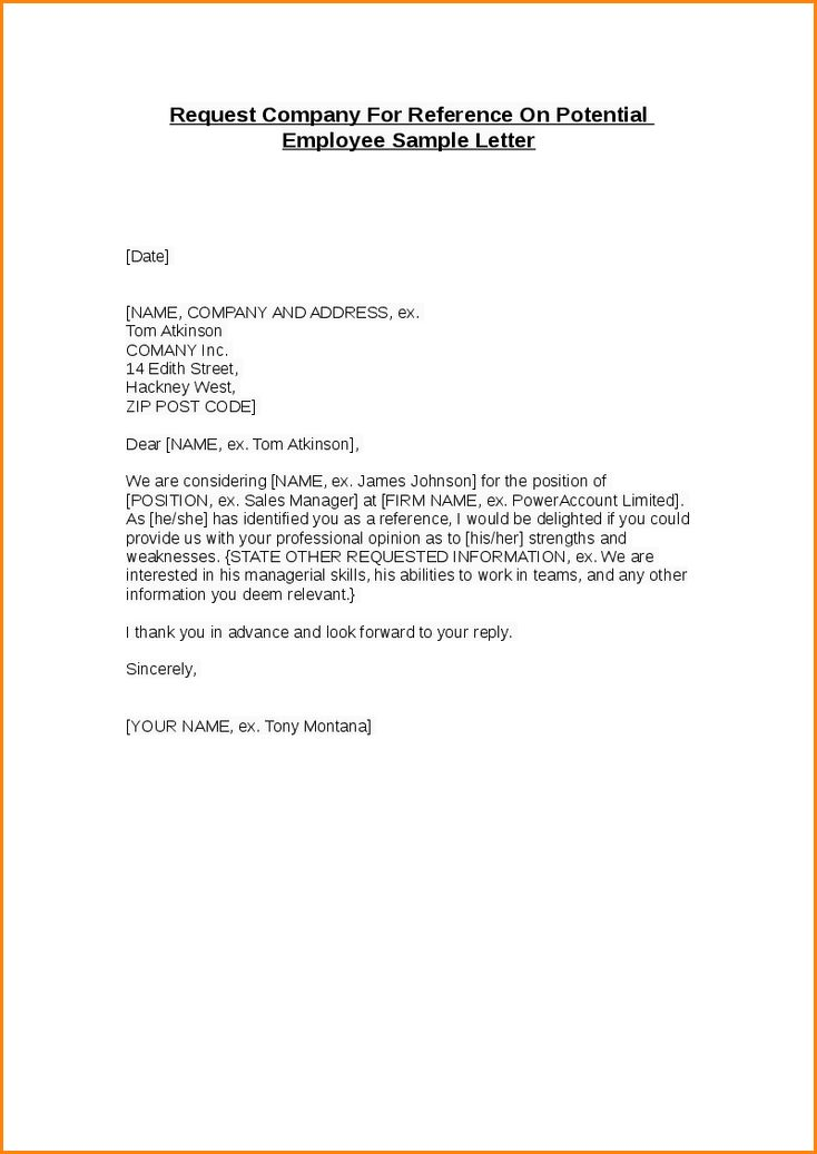 12+ sample recommendation letter for employee | receipts template