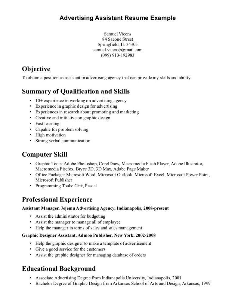picture of printable marketing assistant resume sample dental ...