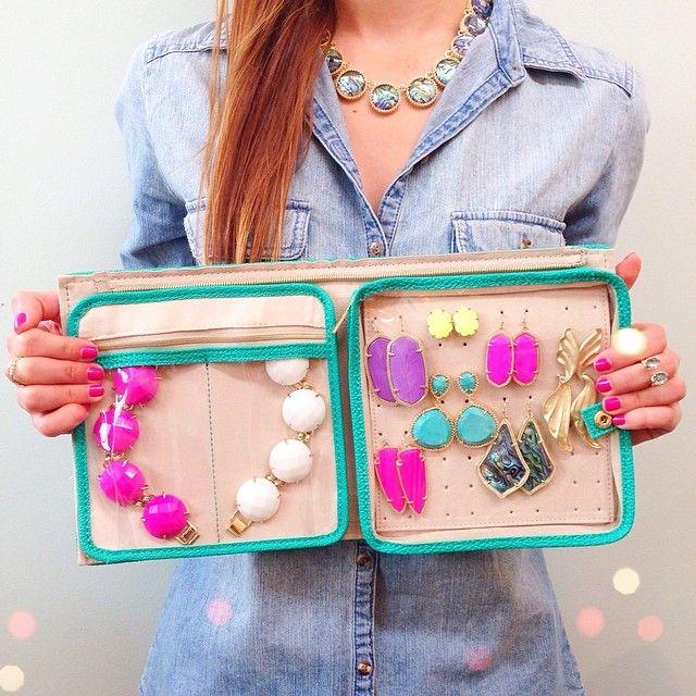 Kendra Scott Jet Set Small Jewelry Organizer available at