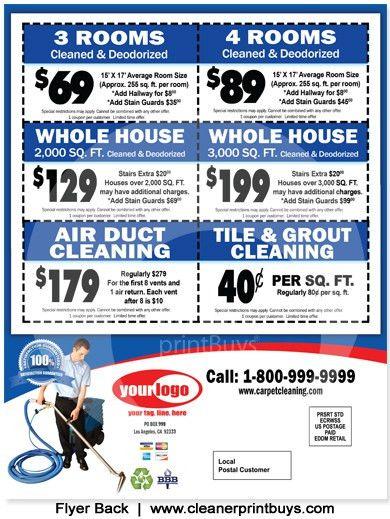Carpet Cleaning EDDM (8.5 x 11) #C0006