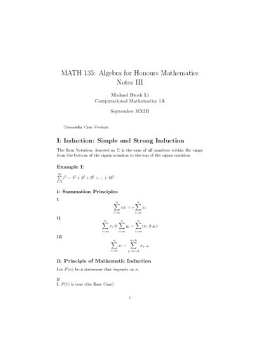 MATH 135 Lecture Notes: MATH 135 Algebra Notes II (Sept 16 - Sept ...