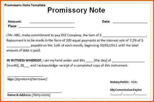 13+ promissory note sample | Survey Template Words