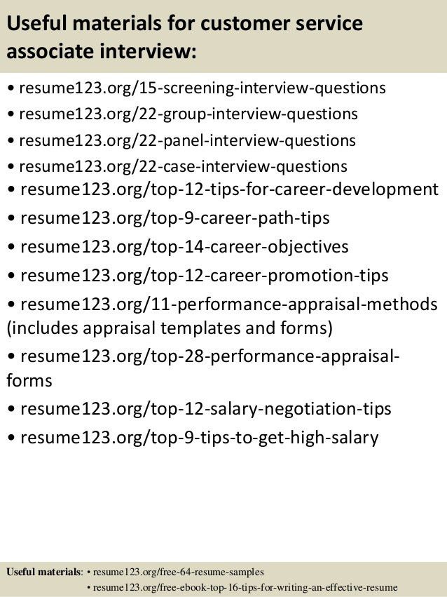 sample resume for customer service position unforgettable