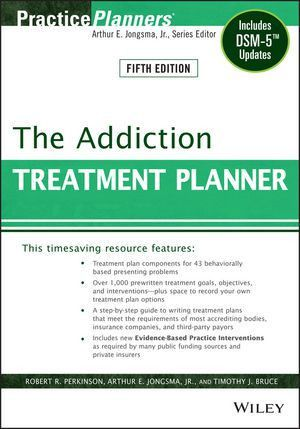 Wiley: The Addiction Treatment Planner: Includes DSM-5 Updates ...