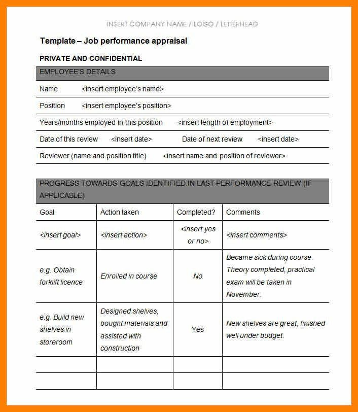 8+ performance review form examples | commerce invoice