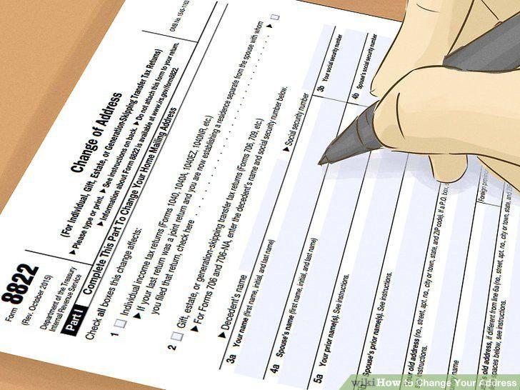 3 Ways to Change Your Address - wikiHow