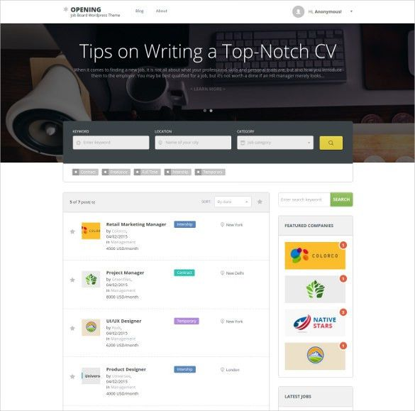 17+ Directory & Listing HTML5 Themes & Templates | Free & Premium ...