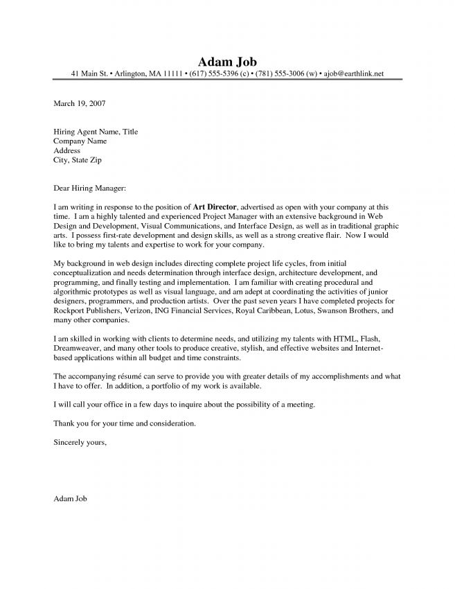 10 Executive Director Cover Letter Sample Cover Letter attention ...