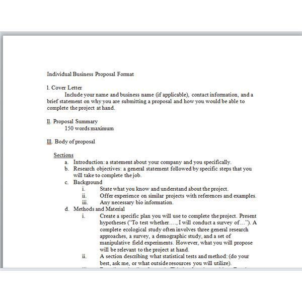 Writing a business proposal template #business #valuation ...