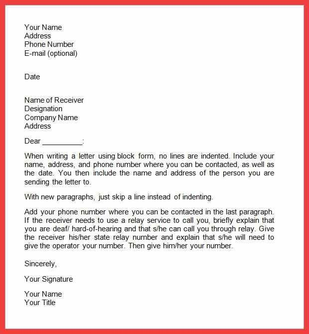 formal cover letter sample | memo example