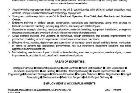 Drilling Consultant Resume Examples - Reentrycorps