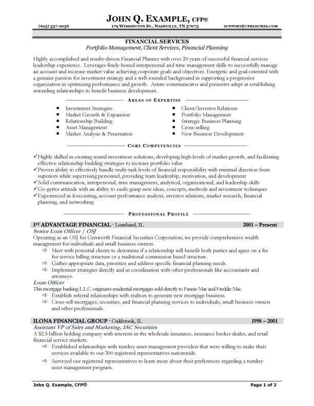 Targeted Resume Sample | jennywashere.com