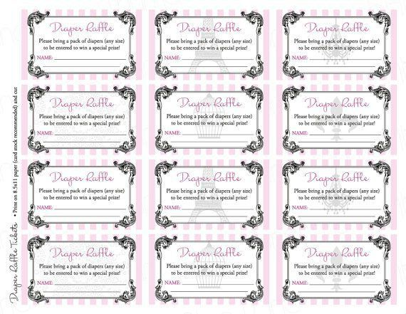 Raffle Tickets Template Free Online - Template Examples