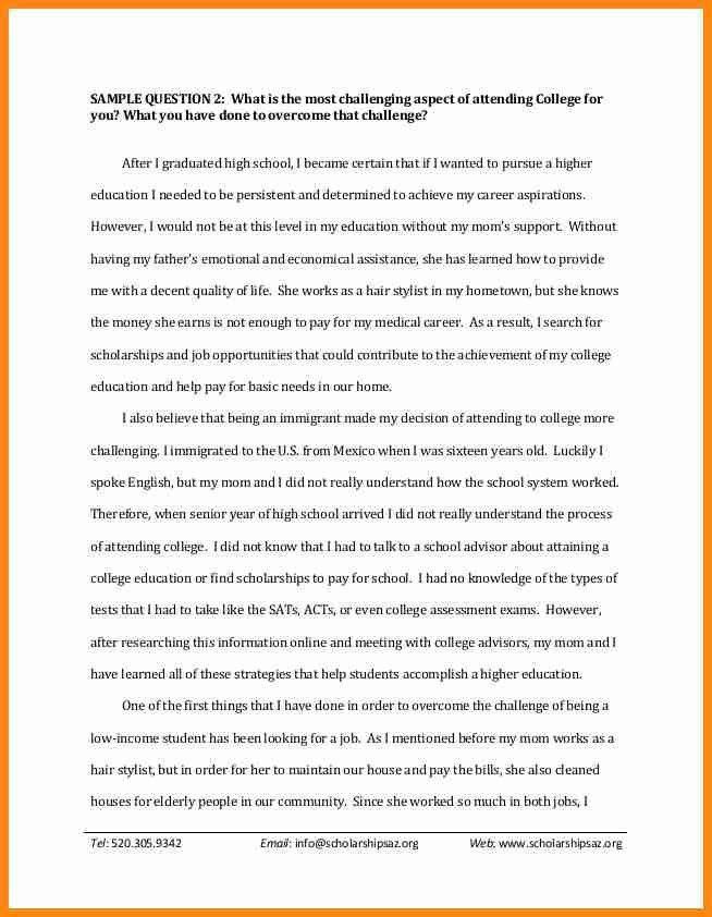 6+ scholarship letter samples | model resumed