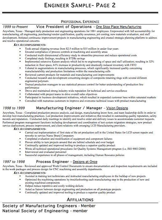 Engineering Resume Template Word. Kinds Of Resume Format Best ...
