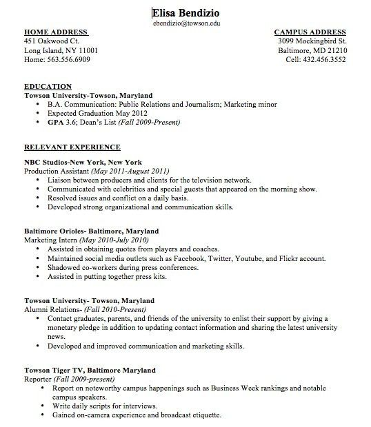 First Time Resume With No Experience Samples 5 Resume Templates ...