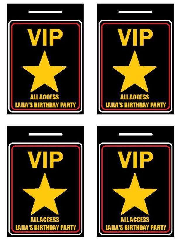 Free Vip Pass Template [Nfgaccountability.com ]