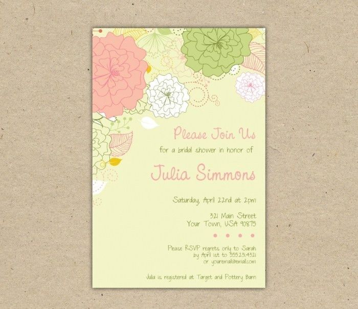 Free Templates For Wedding Invitations To Print : Printable ...