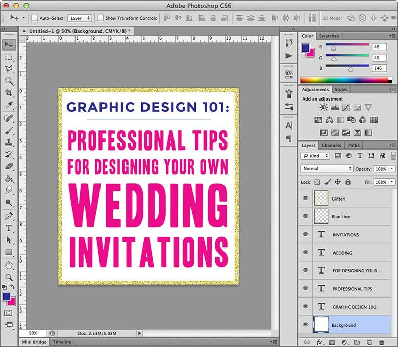 Wedding Invitation Computer Software #8950