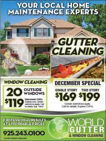 World Gutter & Window Cleaning - Window Washing - Livermore, CA ...