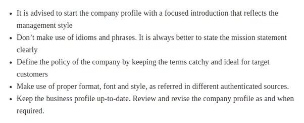 How to Write a Company Profile - Quora
