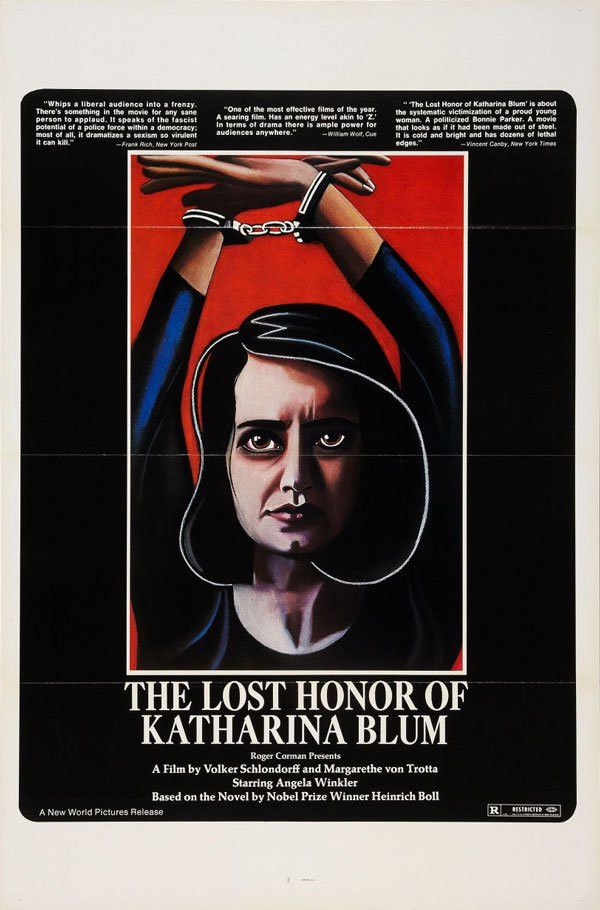 Movie Poster of the Week: The Films of Volker Schlöndorff on ...