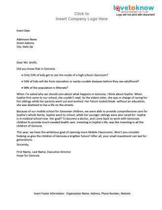 sample donation letters - thebridgesummit.co