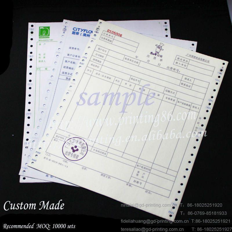 Sample Delivery Order Form Manufacturer - Buy Delivery Order Form ...