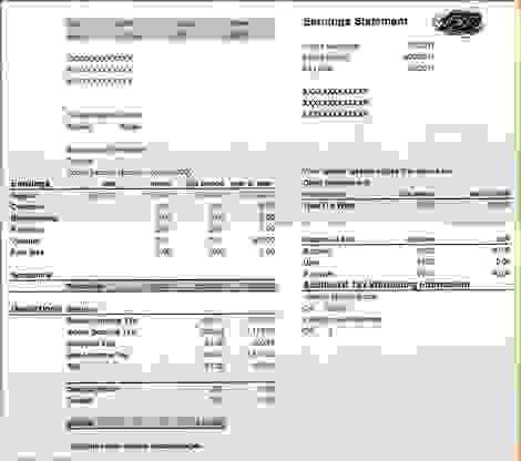 9 Adp Pay Stub TemplateAgenda Template Sample | Agenda Template Sample