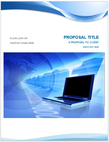 Project Proposal Template | Microsoft Word Templates