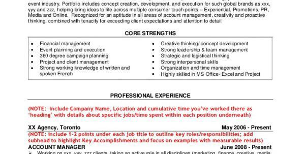 Advertising Account Executive Job Description Advertising Account ...