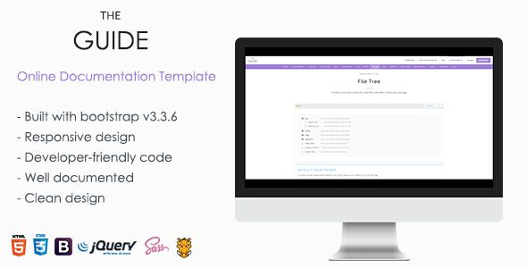 Documentation Templates from ThemeForest