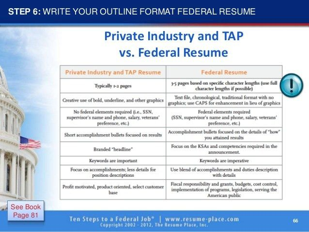 10 steps to federal job