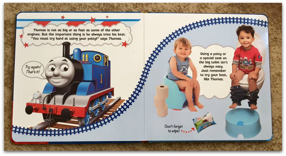 Potty Training With Thomas and Friends: Review and Giveaway ...