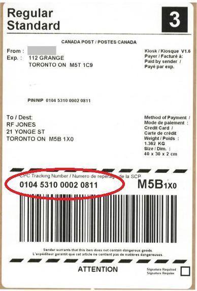 Canada Post Tracking.Canada Post.Track Canada Post